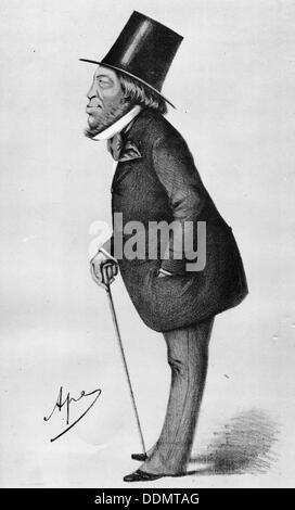 Baron Mayer Amschel de Rothschild (1773-1855), German banker. Artist: Unknown - Stock Photo
