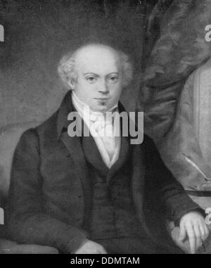 Lionel Nathan de Rothschild (1777-1836), German banker. - Stock Photo