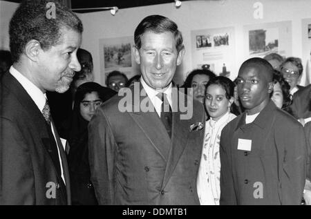 Prince Charles (1948- ), The Prince of Wales, 1996. Artist: Sidney Harris - Stock Photo
