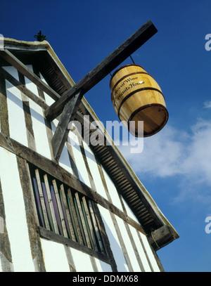 Medieval Merchant's House, French Street, Southampton, Hampshire, 1988. Artist: Paul Highnam - Stock Photo