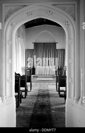 The Lady Chapel in Holy Trinity Church, Long Melford, Suffolk, c1965-c1969.  Artist: Laurence Goldman - Stock Photo