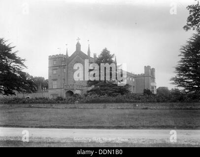 Cassiobury Park, Watford, Hertfordshire, 1890-1910. Artist: Unknown - Stock Photo