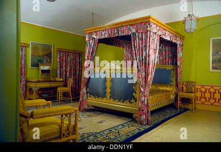 Bedroom, Royal Pavilion, Brighton, East Sussex, 1960s. Artist: Eric de Maré - Stock Photo