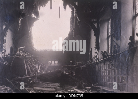 ww2 air raid damage bomb damage at southampton firefighters put out stock photo 19540591 alamy. Black Bedroom Furniture Sets. Home Design Ideas