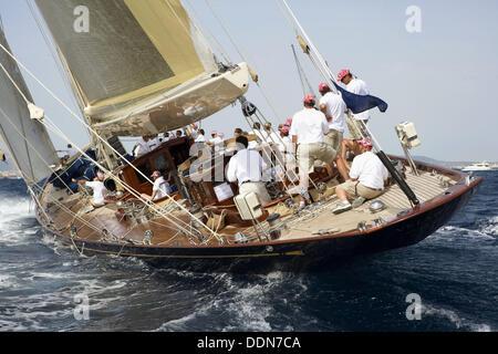 The Super Yacht Cup, Palma de Mallorca, Spain - Stock Photo