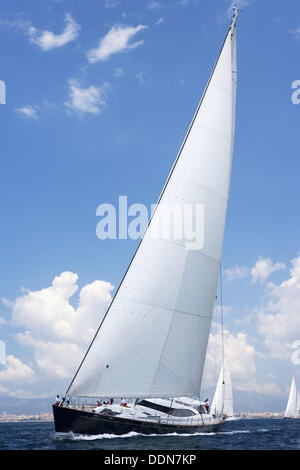 The Super Yacht Cup, Palma de Mallorca, Spain - Stock Photo