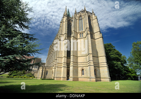 Lancing college chapel west sussex - Stock Photo