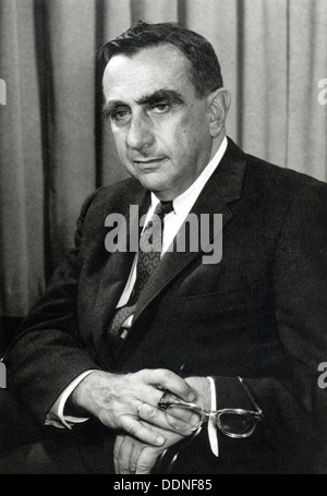 Edward Teller, American theoretical physicist, known colloquially as 'the father of the hydrogen bomb'. - Stock Photo
