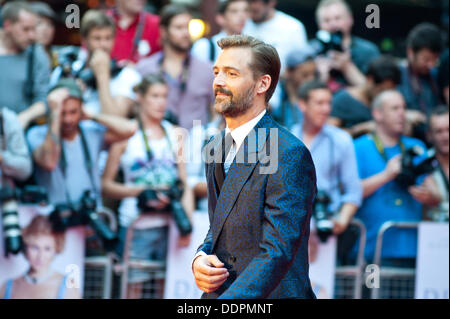 London, UK - 5 September 2013: Patrick Grant attends the Diana world premiere at the Odeon Cinema in Leicester Square. - Stock Photo