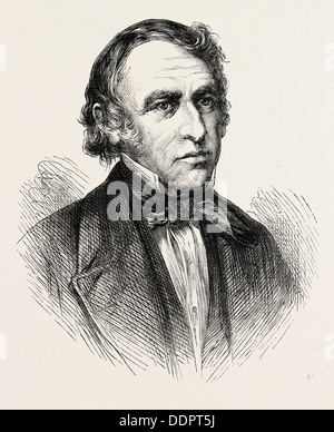 PRESIDENT ZACHARY TAYLOR, 1784-1850, He was the 12th President of the United States, and an American military leader, - Stock Photo
