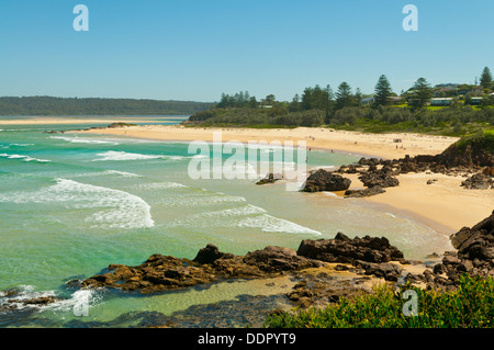Main Beach, Tuross Head, NSW, Australia - Stock Photo