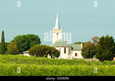Lutheran Church, Light Pass, Barossa Valley, South Australia, Australia - Stock Photo