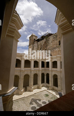 ... Temple and ex-convent of St Dominic (16th century), Santo Dominto  Yanhuitlan