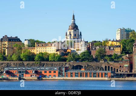 Sodermalm. Stockholm, Sweden - Stock Photo
