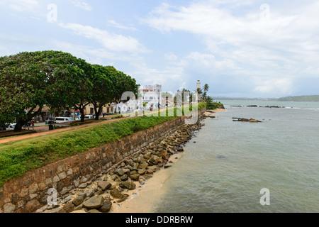 Sri Lanka, South Coast. city of Galle - Stock Photo