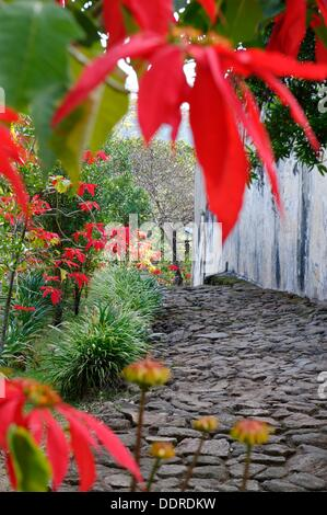 Walled historic village including residences and burial sites of several key members of the royalty of Imerina. - Stock Photo