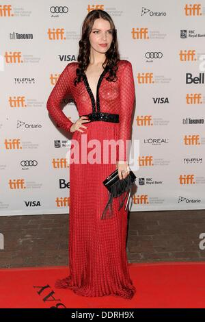 Toronto, ON. 5th Sep, 2013. Sianoa Smit-McPhee at arrivals for ALL CHEERLEADERS DIE Premiere at The Toronto Film - Stock Photo