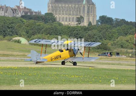 de Havilland Tiger Moth - Stock Photo