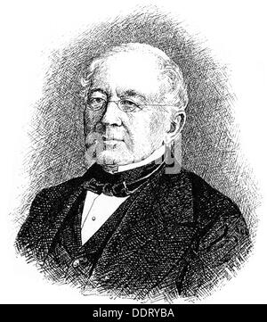 Gorchakov, Alexander Mikhailovich, 15.7.1798 - 11.3.1883, Russian diplomat and politician, Foreign Minister 1856 - Stock Photo