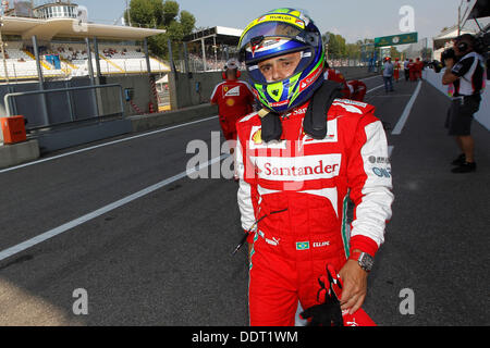 Monza, Italy. 06th Sep, 2013. Motorsports: FIA Formula One World Championship 2013, Grand Prix of Italy,   #4 Felipe - Stock Photo