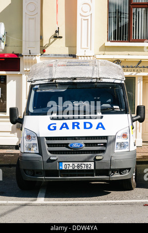 Garda Siochana Irish police vehicle - Stock Photo