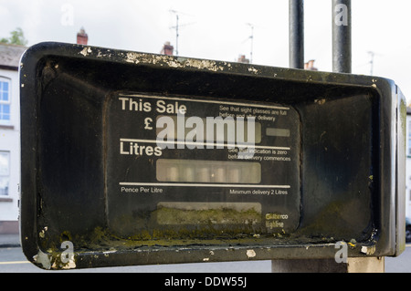 Abandoned petrol pump - Stock Photo