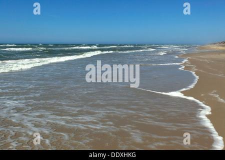 The Danish north western coast at Kandestederne. Denmark. - Stock Photo