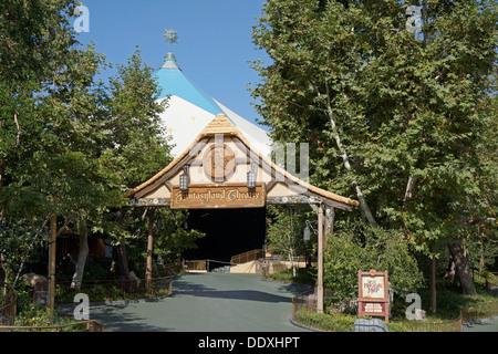 Fantasyland Theatre, Disneyland, Magic Kingdom, Anaheim, California - Stock Photo