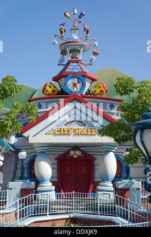 Disneyland, Toontown City Hall, Fantasyland, Magic Kingdom, Anaheim California - Stock Photo