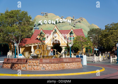 Toontown, Mickey's House, Disneyland, Fantasyland, Magic Kingdom, Anaheim California - Stock Photo