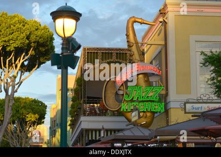 Ralph Brennanu0027s Jazz Kitchen, Disneyland, Downtown Disney, Anaheim,  California   Stock Photo