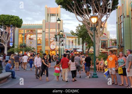 Disneyland Downtown, Shopping, Anaheim, California - Stock Photo