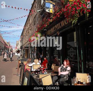 Rose Street,Edinburgh,Scotland,UK - the Kenilworth - Stock Photo