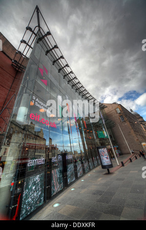 Edinburgh Festival Theatre Nicholson St - Stock Photo