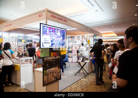 Jakarta Indonesia 8th September 2013 Asia Kawaii Way Opens A Stand In Anime