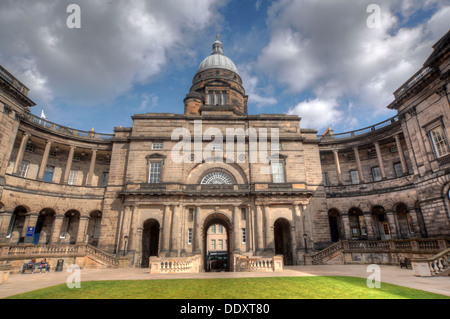 Tower/dome at Edinburgh University South College Lothian Scotland UK wide view - Stock Photo
