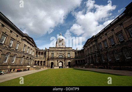Panorama of Edinburgh University South College Lothian Scotland UK wide view - Stock Photo
