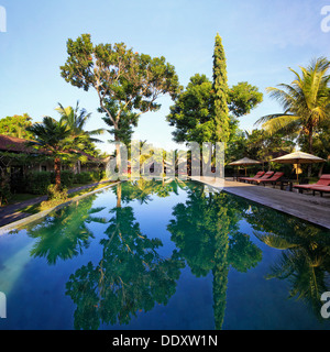 Indonesia, Bali, Ubud, Boutique Resort - Stock Photo