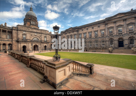 Edinburgh University South College Lothian Scotland UK wide view - Stock Photo