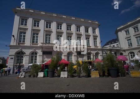 Place Royale Koningsplein Brussels Bruxelles Belgium Belgique Belgian Europe - Stock Photo