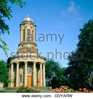 United Reformed Church, Saltaire, West Yorkshire. Artist: Dorothy Burrows - Stock Photo