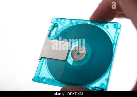 Retro MiniDisc data storage. - Stock Photo