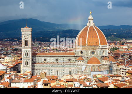 Duomo cathedral in Florence - Stock Photo
