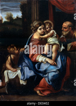 'The Holy Family with John the Baptist as a Boy', late 16th or early 17th century.  Artist: Annibale Carracci