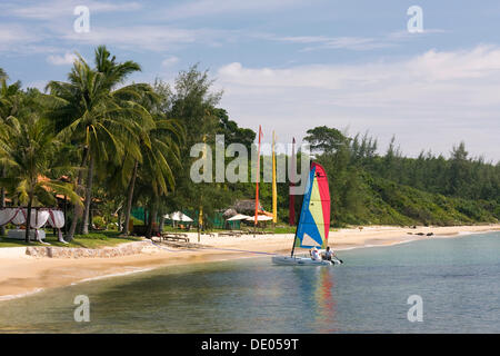 Chen La Resort, beach resort, Phu Quoc Island, Vietnam, Southeast Asia - Stock Photo