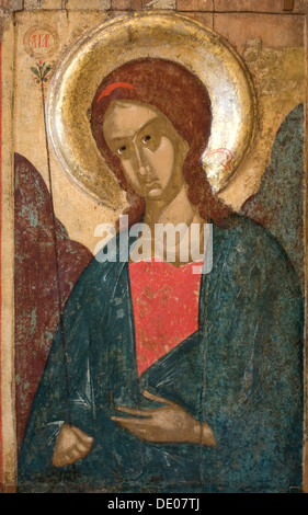 'The Archangel Gabriel', early 15th century. - Stock Photo