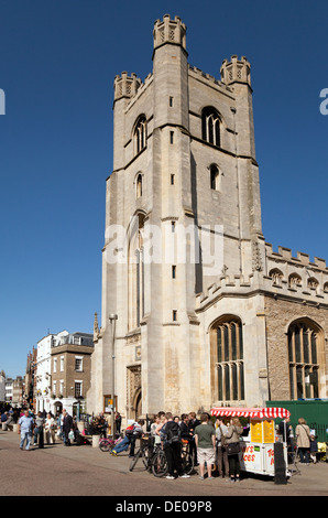 Great St Marys Church, the University church, Cambridge city centre, Cambridge, UK - Stock Photo