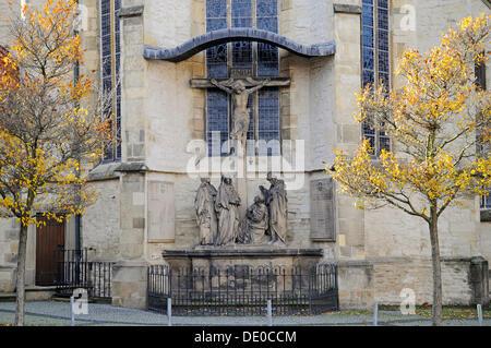St Bartholomew's Church, Ahlen, Muensterland region, North Rhine-Westphalia, PublicGround - Stock Photo