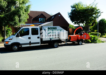 Aboricultral Tree Services. - Stock Photo