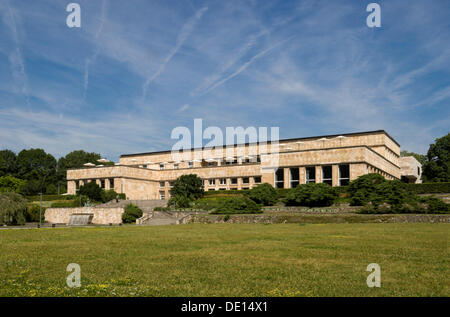Casino of the Johann Wolfgang Goethe-University, Campus Westend, former IG Farben building, Poelzig-Bau building, - Stock Photo